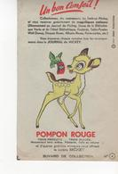 Buvard Journal De Mickey POMPON ROUGE N° 4 - Food
