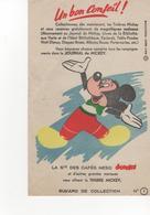 Buvard Journal De Mickey Café NESO N° 1 - Food