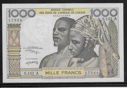 Côte D'Ivoire - 1000 Francs - Pick N°103Ak - SUP - Côte D'Ivoire