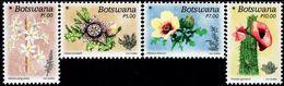 Botswana - 2017 - Flowers Of The Desert - Mint Stamp Set - Botswana (1966-...)