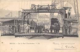 76-ROUEN- SUR LE PONT TRANSBORDEUR - Rouen