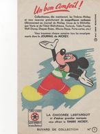 Buvard Journal De Mickey Chicorée LESTARQUIT N° 1 - Food
