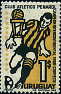 Ref. 27094 * NEW *  - URUGUAY . 1968. ATHLETIC CLUB PENAROL, INTERCONTINENTAL FOOTBALL CHAMPION. CLUB ATLETICO PEÑAROL C - Uruguay