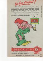 Buvard Journal De Mickey Chicorée Les Biscuits BN  N° 3 - Food