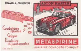 Buvard METASPIRINE ASTON-MARTIN - Chemist's