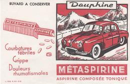 Buvard METASPIRINE DAUPHINE - Chemist's