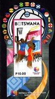 Botswana - 2017 - Netball World Youth Cup - Mint Souvenir Sheet With Embossing - Botswana (1966-...)