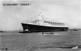 """76-LE HAVRE- LE PAQUEBOT """" FRANCE """" - Harbour"""