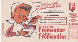 Buvard Farine FROMENDOR 8 Heures - Food