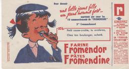 Buvard Farine FROMENDOR 10 Heures - Food