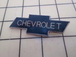 Pin813F Pin's Pins / Beau Et Rare / AUTOMOBILE : LOGO DE LA MARQUE CHEVROLET - Other