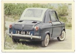 """Voiture PIAGGO  VESPA-400  """"Lambinette""""  (photo 9x12,5)  1968 - Voitures De Tourisme"""