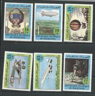 MAURITANIE Scott 522-527 Yvert 514-519 (6) ** Cote 11,00$ 1982 - Mauritanie (1960-...)