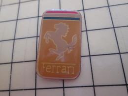 Pin813F Pin's Pins / Beau Et Rare / AUTOMOBILE : LOGO DE LA MARQUE FERRARI - Ferrari