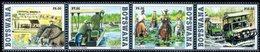 Botswana - 2017 - Crossing River In Botswana - Mint Stamp Set - Botswana (1966-...)