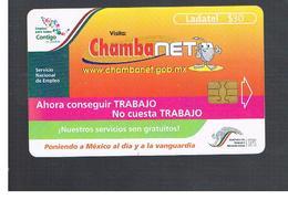 MESSICO (MEXICO) -    2000  CALENDAR, CHAMBANET          - USED - RIF.   10785 - Mexico