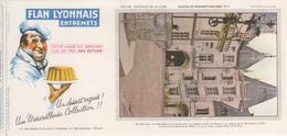 Buvard Flan LYONNAIS Série Chateau De La Loire N° 7 Chateau De Chaumont - Food