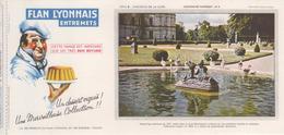 Buvard Flan LYONNAIS Série Chateau De La Loire N° 8 Chateau De VALENCAYI - Food