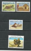 MAURITANIE Scott 534-536, 554 Yvert 510A-510C, 513C (4) ** Cote 9,00$ 1983-4 - Mauritanie (1960-...)