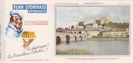 Buvard Flan LYONNAIS Série Chateau De La Loire N° 10 Chateau De MONTRICHARD - Food