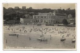 GDYNIA  -POLSKA RIWIERA 1933 - VIAGGIATA FP - Pologne