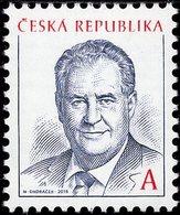 Czech Republic - 2018 - Inauguration Of Milos Zeman, Czech President - Mint Stamp - Tchéquie