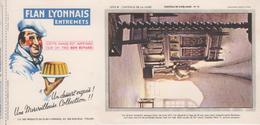 Buvard Flan LYONNAIS Série Chateau De La Loire N° 15 Chateau De Cinq Mars - Food