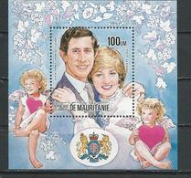 MAURITANIE Scott 557B Yvert BF42 (bloc) ** Cote 5,50$ 1984 - Mauritanie (1960-...)