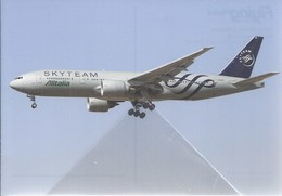 Boeing B-777 EI-DDH Alitalia Air B 777 Avion Sky Team Aviation B.777 Aiplane B,777 Airlines Skyteam - 1946-....: Moderne