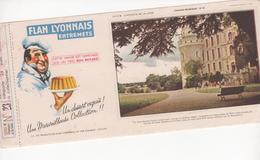 Buvard Flan LYONNAIS Série Chateau De La Loire N° 23 Chateau De BRISSAC - Food