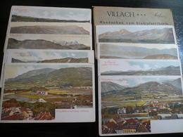 N° 9 Villach Different -  Colourful Mint Postcards Good Condition - Villach