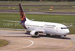 72270068 Flugzeuge Zivil Brussels Airlines Boeing 737-400  Flugzeuge Zivil - Aviación