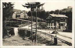 11286758 Winterbach Niederoesterreich Eisenbahnschienen St. Anton An Der Jessnit - Austria