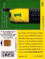 TARJETA TELEFONICA DE LUXEMBURGO. TP15 A (019) - Luxembourg