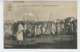 AFRIQUE - DJIBOUTI - Danse Des Somalis - Dahomey