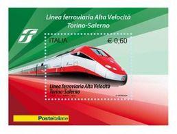 2010 - Linea Ferroviaria Alta Velocità - Nuovo - Blocs-feuillets