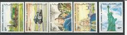 MAURITANIE Scott 580-584 Yvert 565-569 (5) ** Cote 11,20$ 1985 - Mauritanie (1960-...)