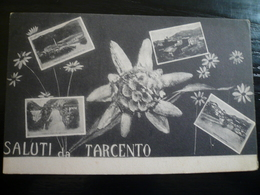 Tarcento Udine  4 Vedutine Saluti Da  Usata 1916 - Italia