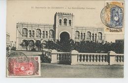 AFRIQUE - DJIBOUTI - Le Secrétariat Général - Dahomey