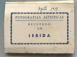 X117152 CATALUNYA LLEIDA SEGRIA RECUERDO DE LERIDA 10 VISTAS - Lérida