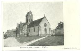 60 Cpa Environ De Meru Fleury Eglise - Meru