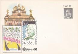 España Sobre Entero Postal Nº 10B - Enteros Postales