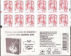 """CARNET Marianne De Ciappa-Kawena """"REVIVEZ UNE ANNEE DE PHILATELIE""""   ATTENTION Carnet SUPER-ARISTO, TRES TRES RARE - Booklets"""