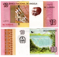 Angola - 10 Kwanzas 2012 2017 UNC Lemberg-Zp - Angola