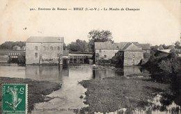 35 ILLE ET VILAINE - BRUZ Le Moulin De Champcor - Autres Communes