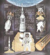 Guinea 2002, Space, 25th Apollo Soyuz, 6val In BF - Space