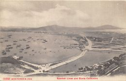 Gibraltar - Spanish Lines And Sierra Carbonera - Gibraltar