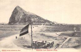 Gibraltar From Spanish Lines - Gibraltar