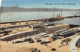 Gibraltar - N° 1 & 2 Docks & Workshops - Gibraltar