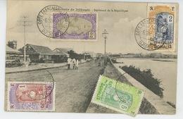 AFRIQUE - DJIBOUTI - Boulevard De La République - Dahomey